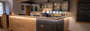 Nově zrekonstruovaná restaurace